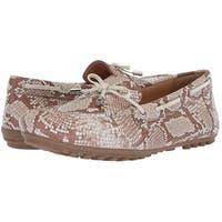 Geox Womens Leelyan Fabric Closed Toe Mules
