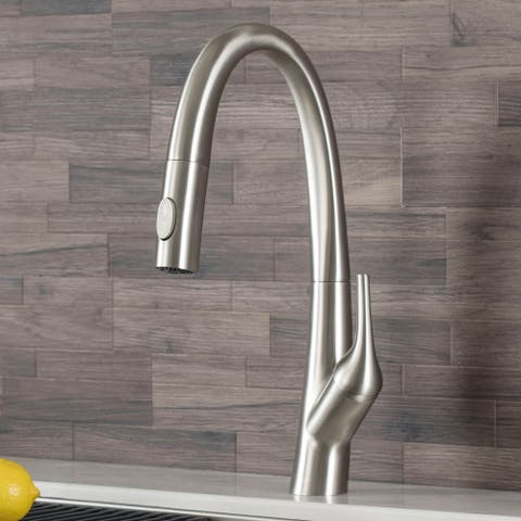 Kraus KPF-2523 Arqo M 1-Hole 1-Handle Pulldown Kitchen Faucet