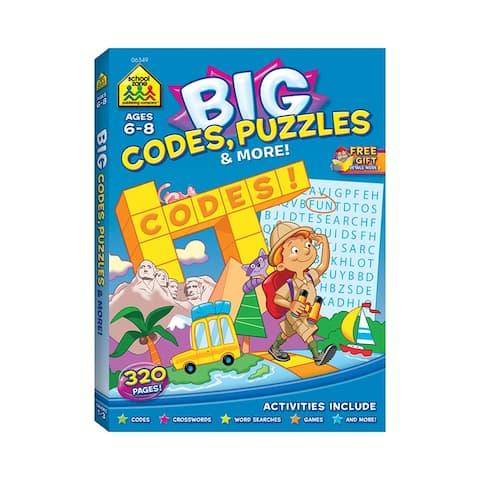 Big Workbook Alphabet Codes Puzzles