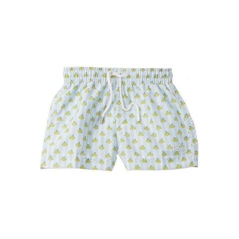 Azul Baby Boys Yellow Submarine Print Drawstring Tie Swimwear Shorts