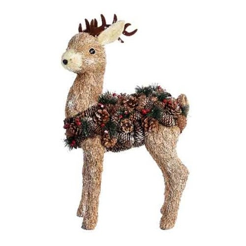 Bristle Pinecone Deer