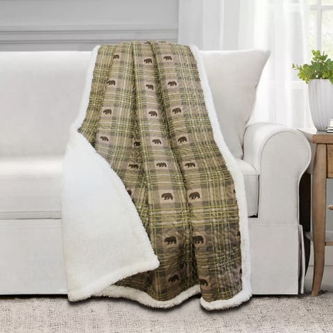 Arbor Quilted Throw 50x60