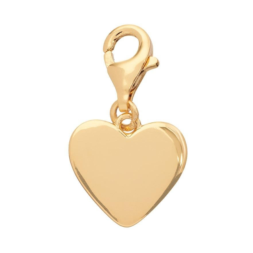 Julieta Jewelry Heart Clip-On Charm - Thumbnail 0