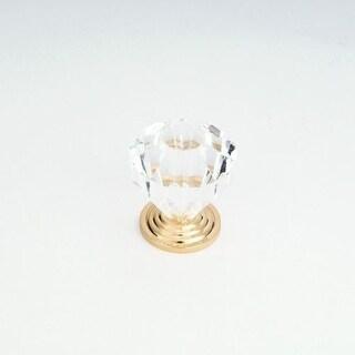 Giagni KB-44 1-1/8 Inch Diameter Geometric Cabinet Knob
