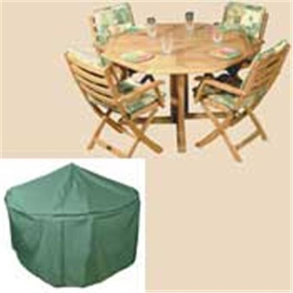 Bosmere C521 84 Inch Round Table And Chairs Polyethylene Cover