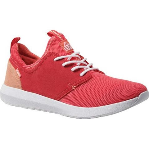 Reef Women's Cruiser Sneaker Raspberry Mesh