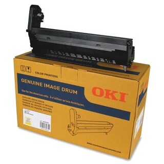OKI 45395709 Oki Yellow Image Drum - 30000 Pages - 30000 Page - 1 Pack