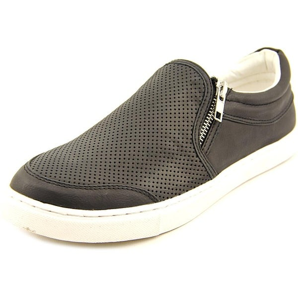 Steve Madden Ellias Women Round Toe Synthetic Black Sneakers