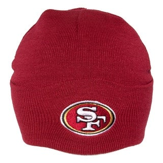 San Francisco 49ers Cuffed Knit Hat - Red