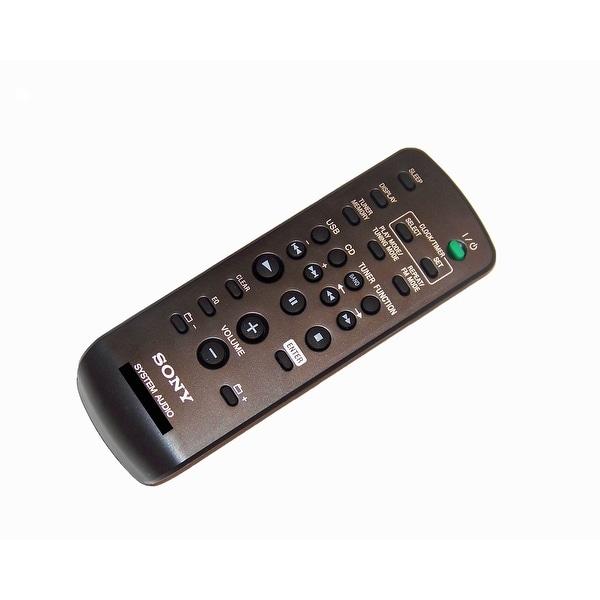 OEM Sony Remote Control Originally Shipped With: CMTFX200, CMT-FX200, MHCESX9, MHC-ESX9, HCDFX200, HCD-FX200