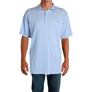 Ralph Lauren Mens Big & Tall Polo Shirt Knit Stretch - 4xlt