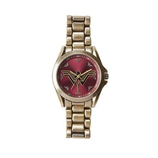 Wonder Woman Logo Bracelet Watch