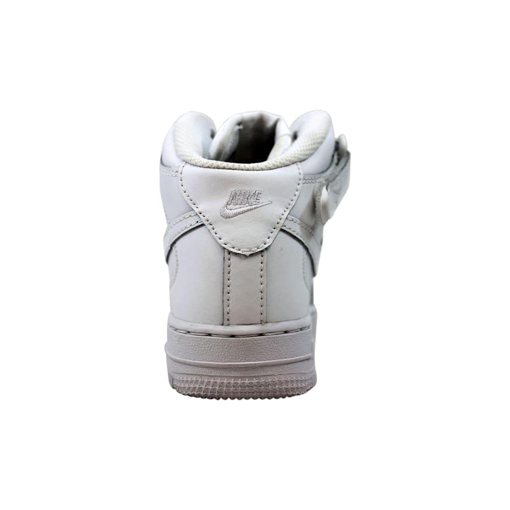 Nike Force 1 Mid WhiteWhite 314196 113 Pre School