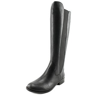 Jessica Simpson Ranica Women  Round Toe Leather Black Knee High Boot