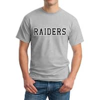 Raiders Sports Graphic Men's T-shirt New Sizes S-2XL