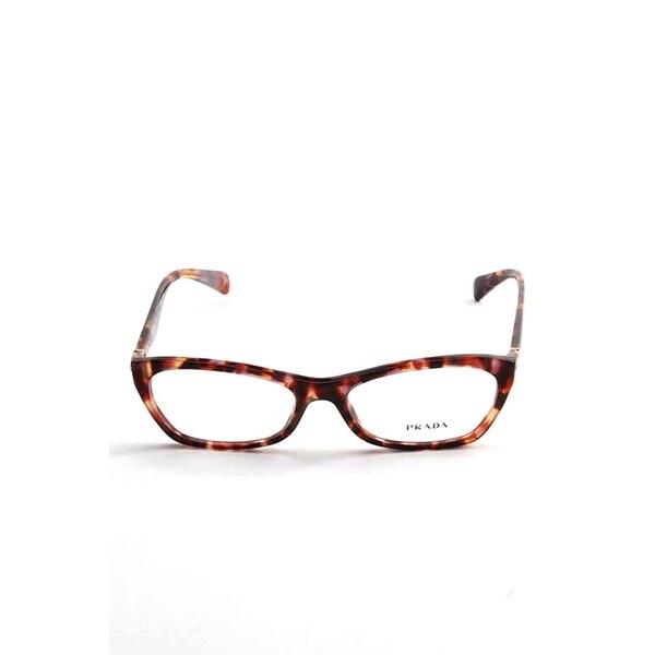 e71d2792792f Shop Prada Havana Optical Eyeglasses In Spotted Violet - Spotted Violet  Havana - One Size - Free Shipping Today - Overstock - 26301052