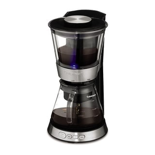 Cuisinart DCB-10 Automatic Cold Brew Coffeemaker, Stainless & Black