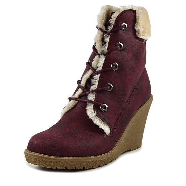 Dolce by Mojo Moxy Fresco Women Burgandy Boots