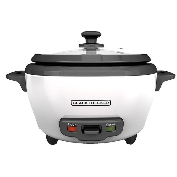 Spectrum Brands Rc506 Bd 6-Cup Rice Cooker, White