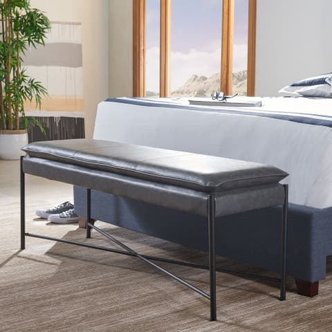 Safavieh Kara Cushioned X-Bench
