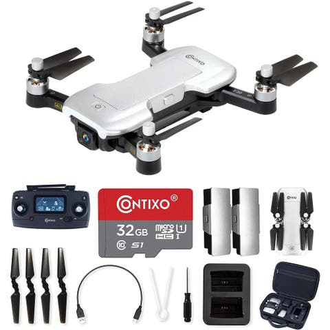Contixo F30 Drone with 4K UHD Camera and GPS, FPV Quadcopter - 1 package