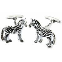 Zebra Cufflinks Animal