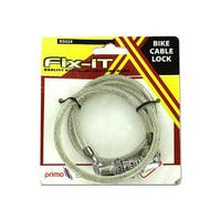 Bike Combination Cable Lock - Pack of 12