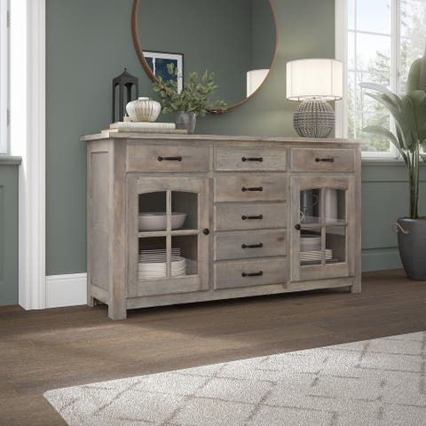 Leonis 62W Buffet Cabinet by Bush Furniture