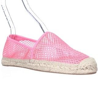 Rebecca Minkoff Ginny Espadrille Flats, Hot Pink Mesh