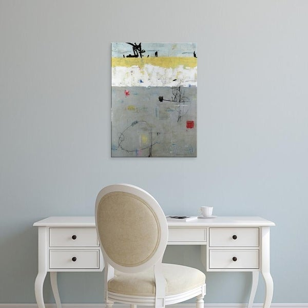 Easy Art Prints Julie Weaverling's 'Borderline' Premium Canvas Art