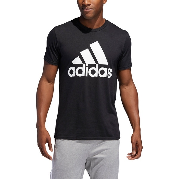 best service a1068 11a83 Adidas Menx27s Badge Of Sport Graphic Tee Adidas