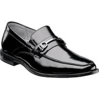 Florsheim Men's Forum Bit Slip On Black Leather
