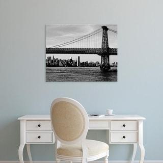 Easy Art Prints Jeff Pica's 'Bridges of NYC IV' Premium Canvas Art