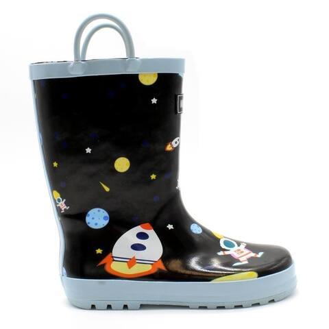 Mucky Wear Boys Waterproof Patterned Loop Boot
