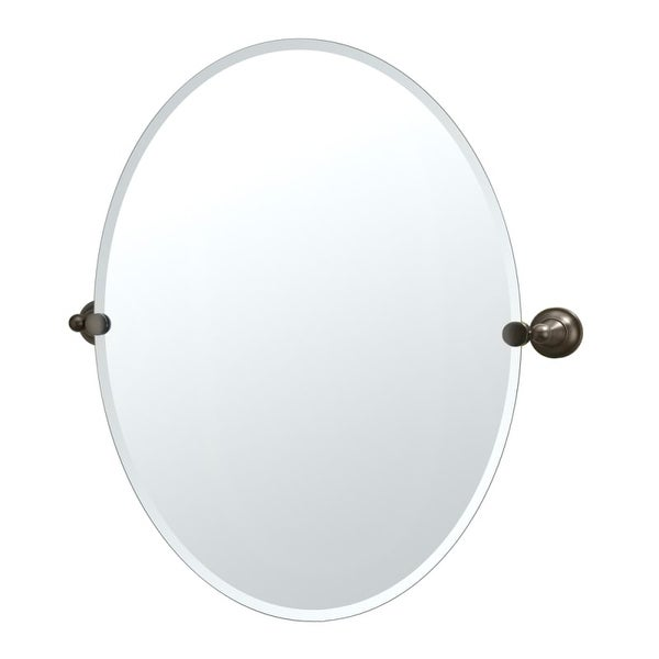 Gatco GC4349LG Large Oval Mirror from the Tiara Series - N/A