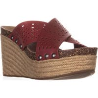 Lucky Brand Neeka2 Espadrille Sandals, Rosewood
