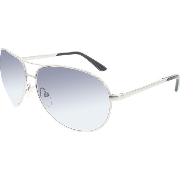 79e1a0ef05 Shop Tom Ford Men s Gradient Charles FT0035-753-62 Silver Aviator ...