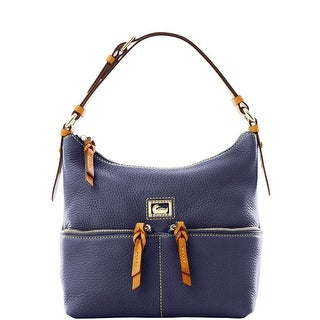 Dooney & Bourke Dillen Small Zipper Pocket Sac (Introduced by Dooney & Bourke at $238 in Jul 2012) - Navy