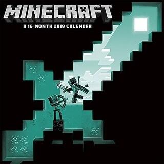 Minecraft Wall Calendar 2018 - multi