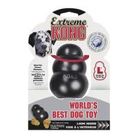 Kong Lrg Black Kong Dog Toy