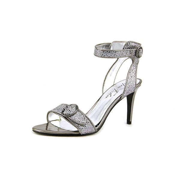Marc Fisher Malika 5   Open Toe Canvas  Sandals
