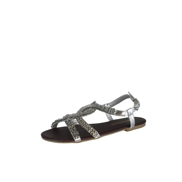 Restricted Womens Juno Sandals - Silver