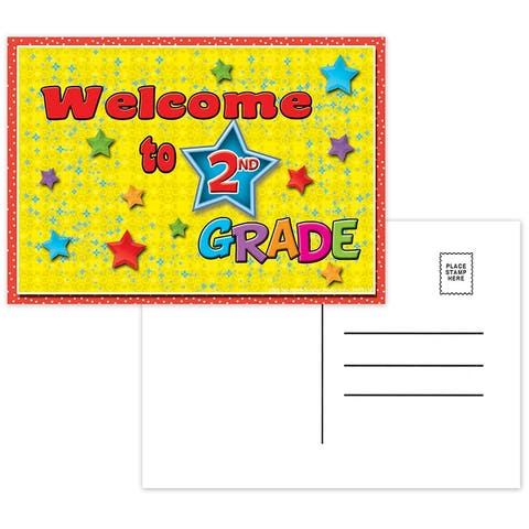 (12 Pk) Postcards Welcome to 2Nd Grade