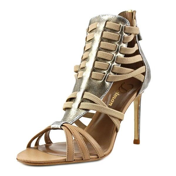 Delman Jacey Women Open-Toe Synthetic Heels