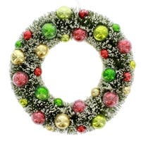 Retro Ball Wreath Ornament