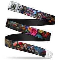 Alice Keyhole Full Color Grays Alice In Wonderland Movie Encounters Webbing Seatbelt Belt