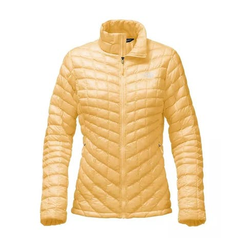 The North Face Women's Thermoball FZ Jacket Golden Haze