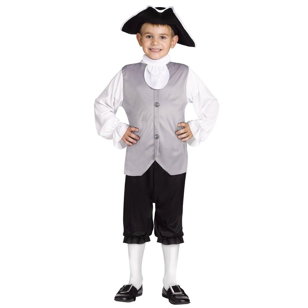 Fun World Historical Colonial Boy Child