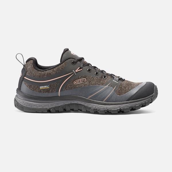 Keen Terradora WP, Women's Waterproof Trail-running Shoe, Raven/Rose Dawn