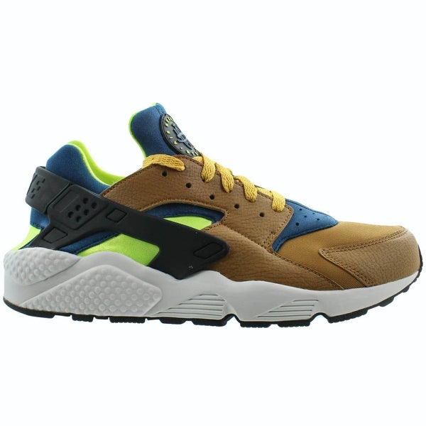 26d11a09c451 Shop Nike Air Huarache Desert Ochre Blue Force Volt (318429 701 ...